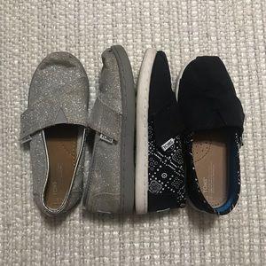 Lot of 2 Children's Velcro Toms